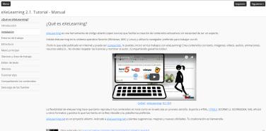 eXeLearning 2 1  Tutorial – Manual | sindofdez